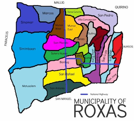 FileRoxas Barangay Locatorjpg Wikipedia - Roxas map