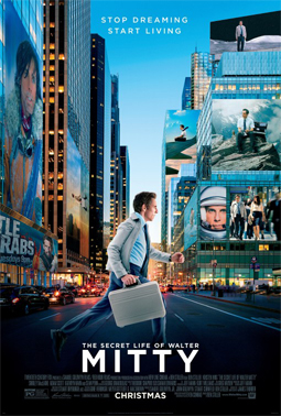 Poster for 2014 Oscars hopeful The Secret Life of Walter Mitty