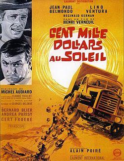 Cent mille dollars au soleil Belmondo movie poster