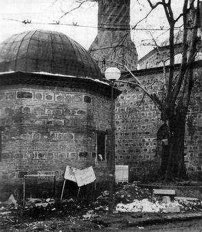 c2897ac6d The Imaret Mosque, Plovdiv, Bulgaria, also known as the Sehabüddin Pasha  Mosque, built in 1444; during the late 1980s, the grounds of the mosque  were turned ...