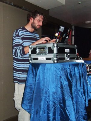 Luke Vibert performing at Liquid Lounge in Cor...