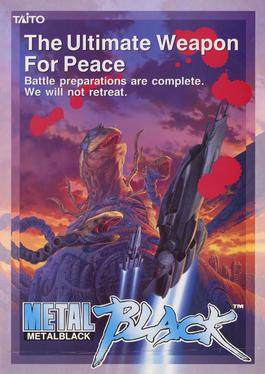 Arcade flyer of Metal Black