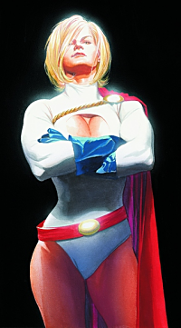 Power Girl Kryptonian Powers