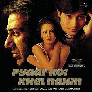 <i>Pyaar Koi Khel Nahin</i> 1999 Indian film