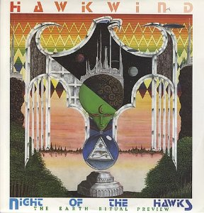 <i>The Earth Ritual Preview</i> 1984 EP by Hawkwind