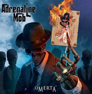 <i>Omertà</i> (album) 2012 studio album by Adrenaline Mob