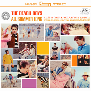 <i>All Summer Long</i> (album) 1964 studio album by The Beach Boys