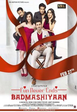 Screen Shot Of Hindi Movie Badmashiyaan (2015) Download And Watch Online Free