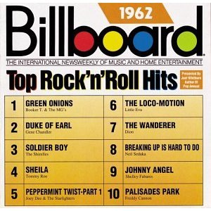 Top Rock\'n\'Roll Hits: 1962billboard hits 1962