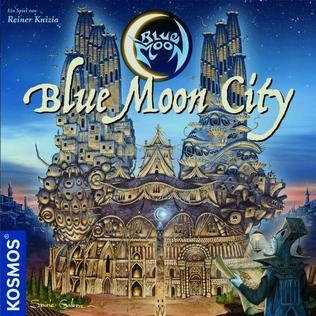 <i>Blue Moon City</i> board and card game