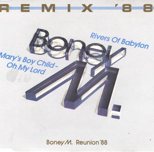 rivers of babylon  boney m rivers of babylon remix 88 1988 single