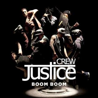 Justice Crew - Boom Boom (studio acapella)