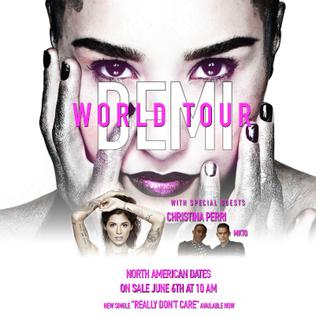Demi World Tour