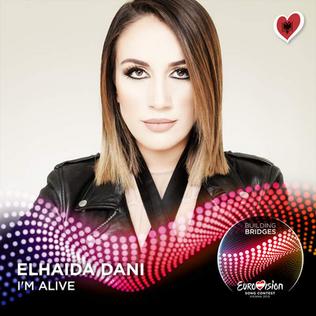 Im Alive (Elhaida Dani song) 2015 song by Elhaida Dani