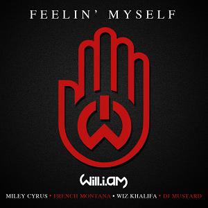 will.i.am featuring Miley Cyrus, French Montana and Wiz Khalifa — Feelin' Myself (studio acapella)