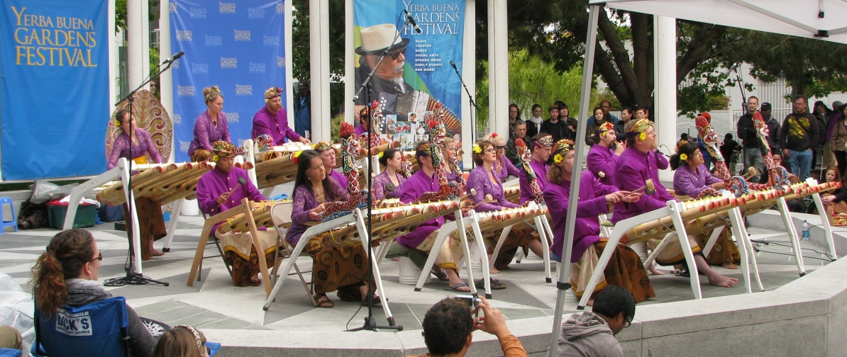 list of gamelan ensembles in the united states