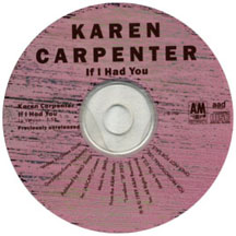 Cover image of song If I Had You by The Carpenters