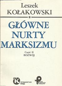Main Currents of Marxism (Polish edition).jpg