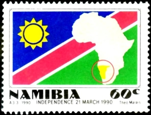 Postage Stamps And Postal History Of Namibia Wikipedia