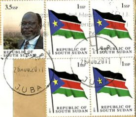 Postage stamps and postal history of South Sudan - Wikipedia