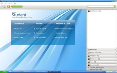 Microsoft Encarta 2009