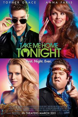 Movie release poster for Take Me Home Tonight, courtesy Universal Pictures