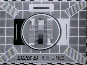 The Test Card E 625 Lines test card