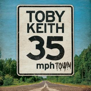 <i>35 MPH Town</i> 2015 studio album by Toby Keith