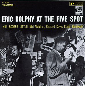 <i>At the Five Spot</i> 1961 live album by Eric Dolphy