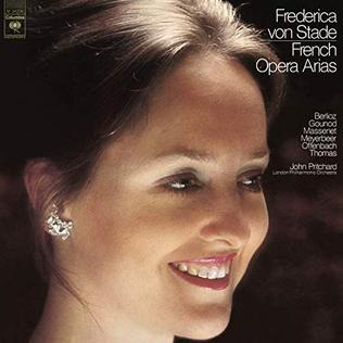 <i>French Opera Arias</i> 1976 studio album by Frederica von Stade