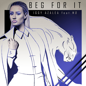 Iggy Azalea featuring MØ - Beg for It (studio acapella)