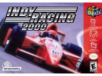 Indy Racing 2000 box art.