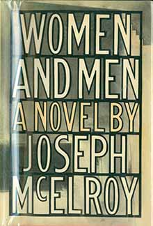 Joseph McElroy, Women and Men, cover.jpg