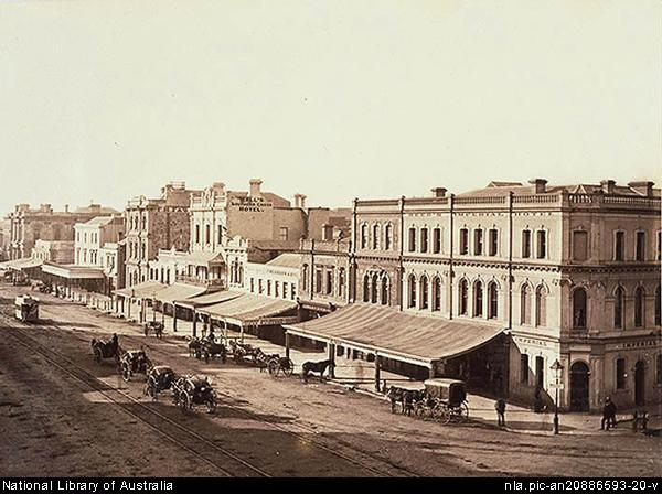 File king william street adelaide 1889 2