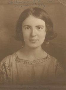 Marya Zaturenska American poet