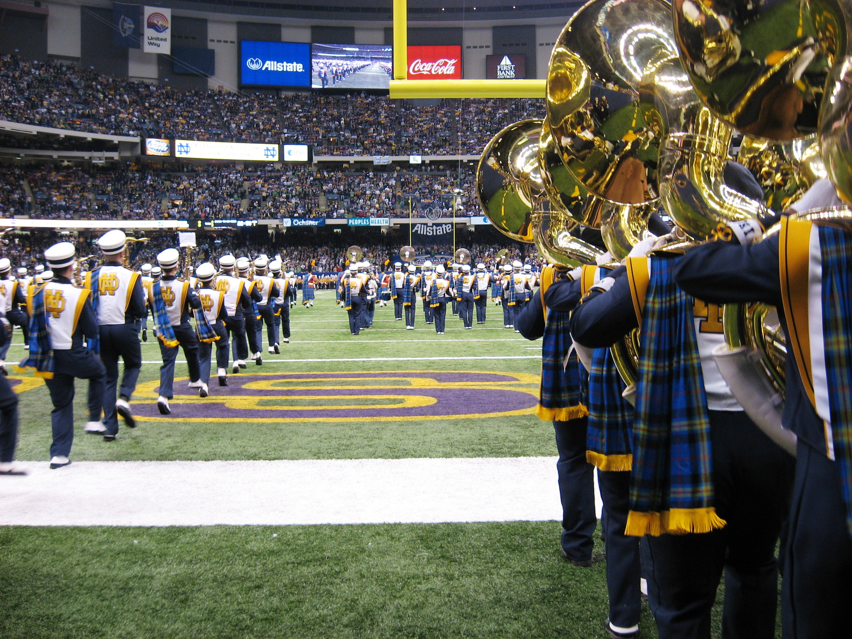 9f8030e1d The Notre Dame Band of the Fighting Irish