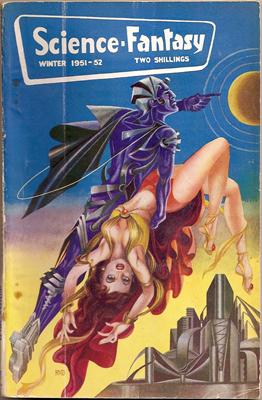 Science Fantasy Winter 1951 cover