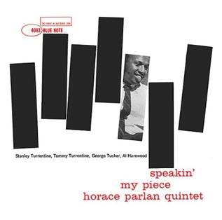 <i>Speakin My Piece</i> 1960 studio album by Horace Parlan