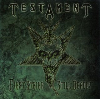 <i>First Strike Still Deadly</i> 2001 studio album of re-recorded songs by Testament