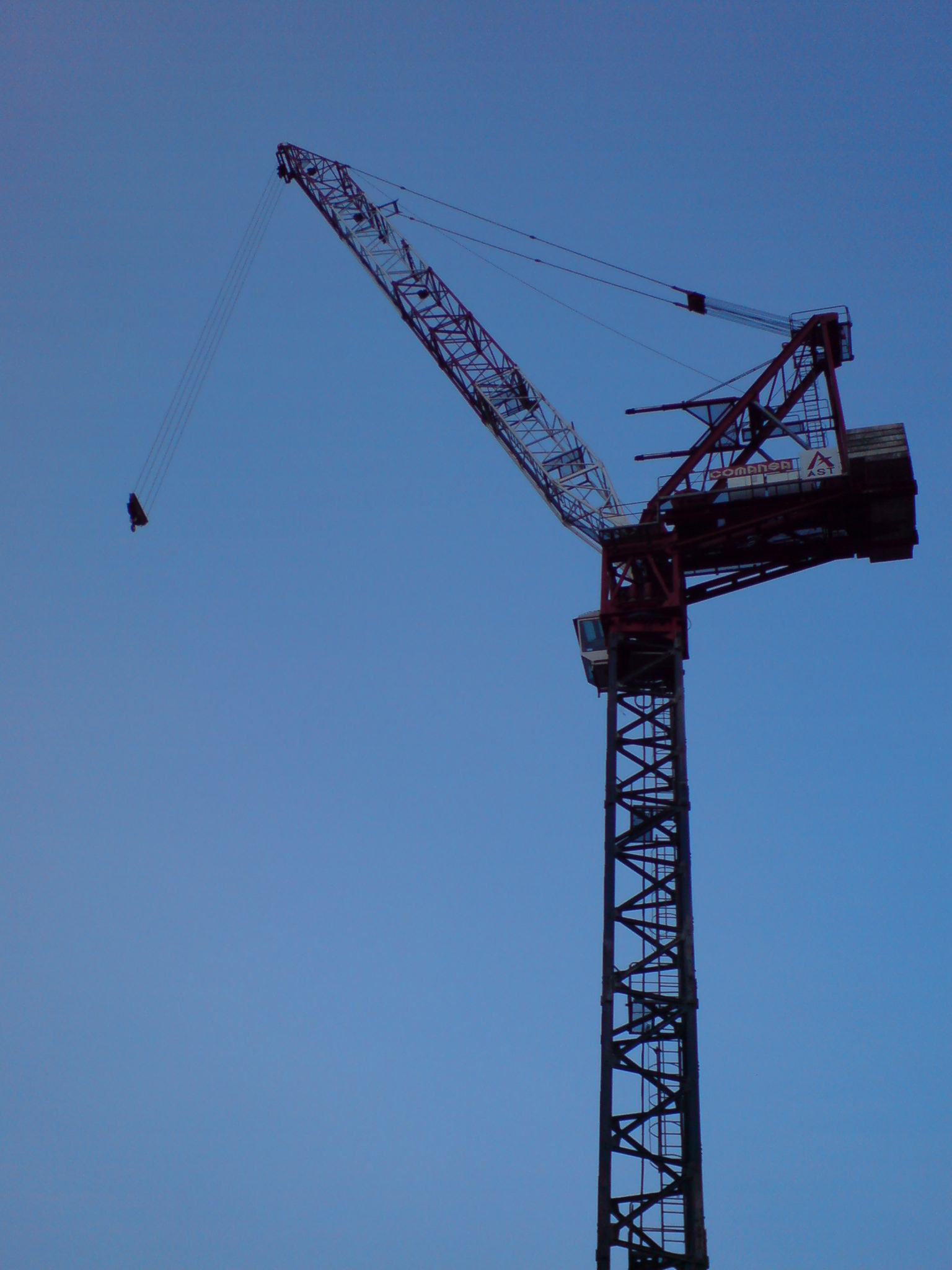 Tower Crane Pictures : Disaster wise one flopped crane
