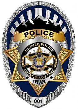 Utahsalt Lake City Police Logo