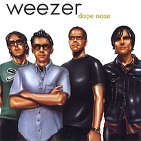 Weezer - Dope Nose single cover