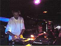 Westwood DJing at London's Moonlighting Club, August 2005