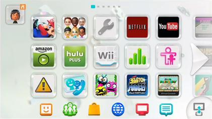 Wii U System Software Wikipedia