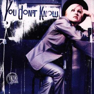You Dont Know (Cyndi Lauper song) 1997 single by Cyndi Lauper