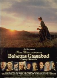 Movie Poster by Rolf Konow of Babette's Feast