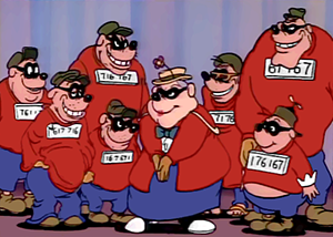 Beagle Boys. CC Wikipedia