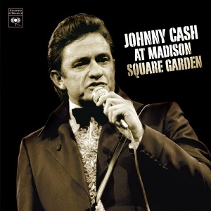 Johnny Cash at Madison Square Garden artwork