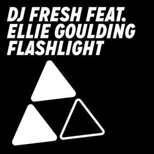 DJ Fresh and Ellie Goulding - Flashlight (studio acapella)