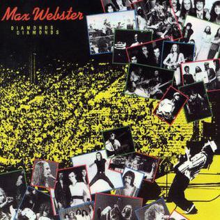<i>Diamonds Diamonds</i> 1981 greatest hits album by Max Webster